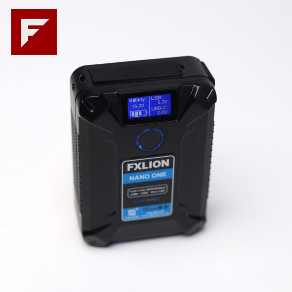 Fxlion NANO ONE 50Wh 14.8V Ultra-Compact V-Mount Battery